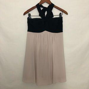 BCBG Halter Cocktail Dress Petite Size 8P